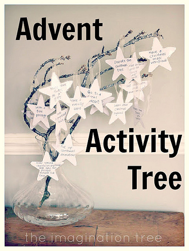Advent Activity Tree (Photo from The Imagination Tree)