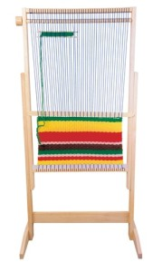 Alison's Montessori Large Weaving Loom Set