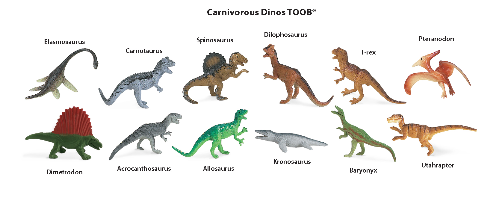 Carnivorous Dinos TOOB key (Image from Safari Ltd.)