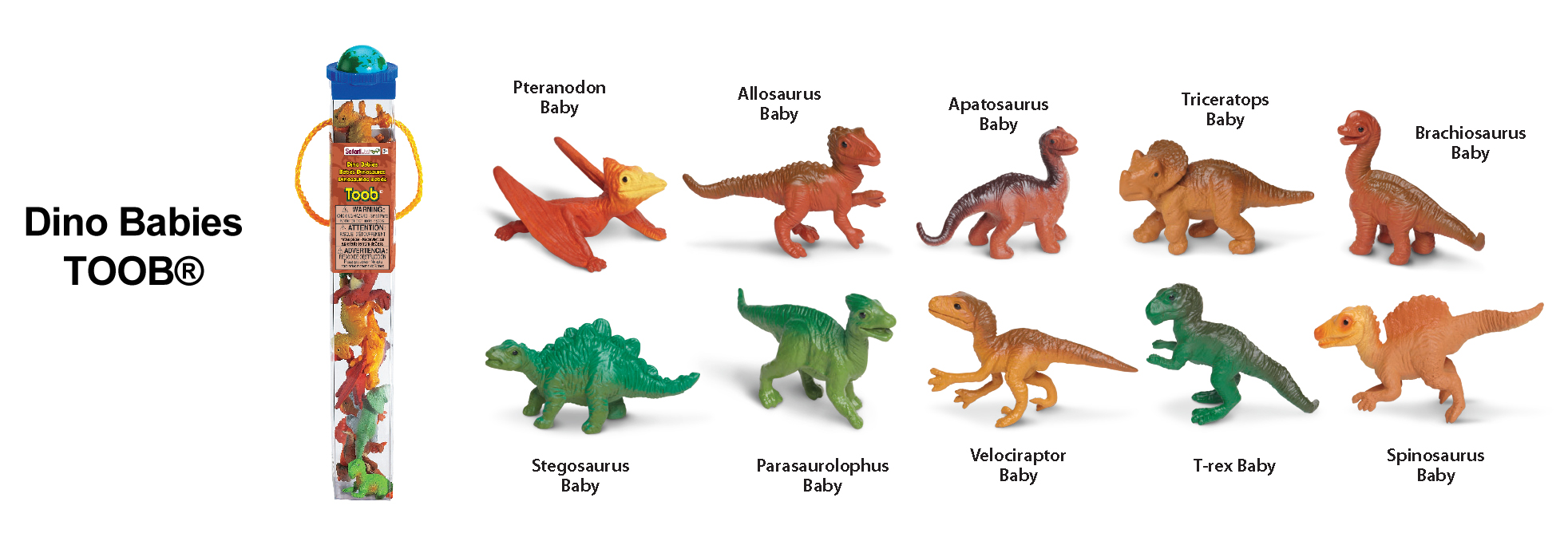 Dino Babies TOOB Key (Image from Safari Ltd.)