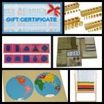HUGE Giveaway – Alison's Montessori Products Worth $940!!!
