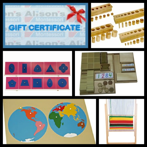 HUGE Giveaway – Alison's Montessori Products Worth $940!!!