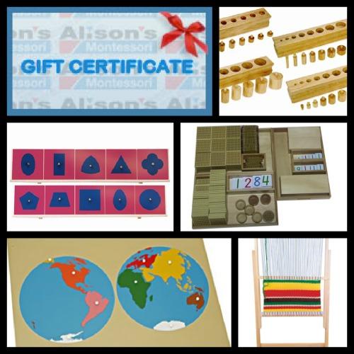 HUGE Giveaway - Alison's Montessori Products Worth $940!!!