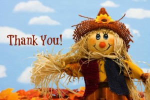 Thank You's for October 2012