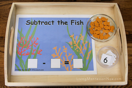 Subtract the Fish Tray