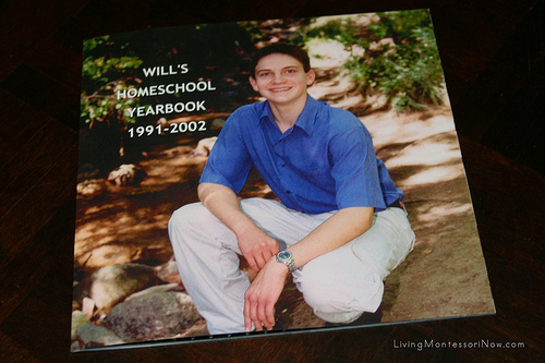 Will's Homeschool Yearbook Cover