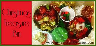 Christmas-Treasure Bin (Photo from My Nearest and Dearest)