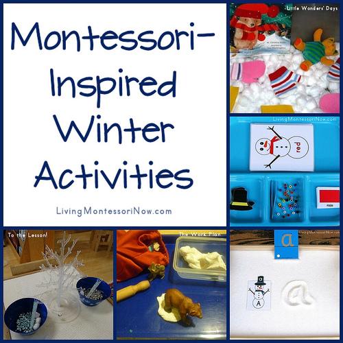 Montessori-Inspired Winter Activities