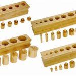 Alison's Montessori Knobbed Cylinder Blocks