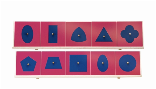 Alison's Montessori Metal Insets with Stands