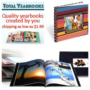 Giveaway - $50 Gift Certificate for Total Yearbooks
