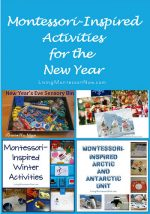 Montessori Monday – Montessori-Inspired Activities for the New Year