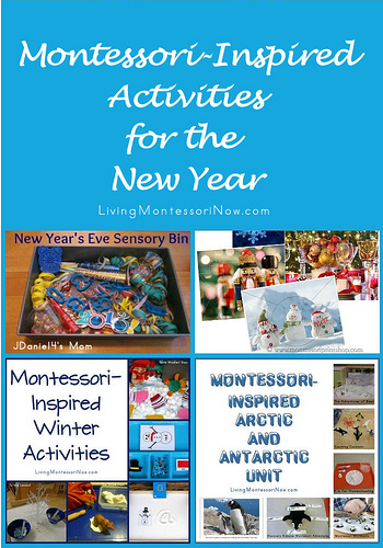 Montessori-Inspired Activities for the New Year