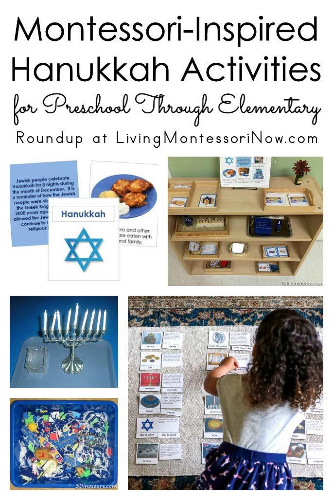 Montessori-Inspired Hanukkah Activities for Preschool Through Elementary