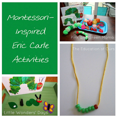 Montesori-Inspired Eric Carle Activities