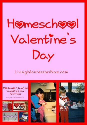 Homeschool Valentine's Day