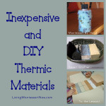 Montessori Monday – Inexpensive and DIY Thermic Materials