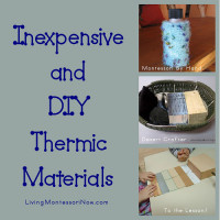 Inexpensive and DIY Thermic Materials