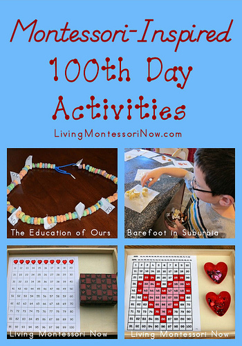 Montessori-Inspired 100th Day of School Activities
