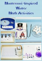 Free Winter Printables and Montessori-Inspired Winter Math Activities