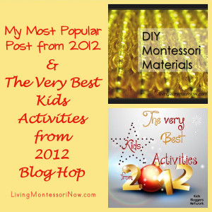 The Best of 2012 - My Most Popular Blog Post