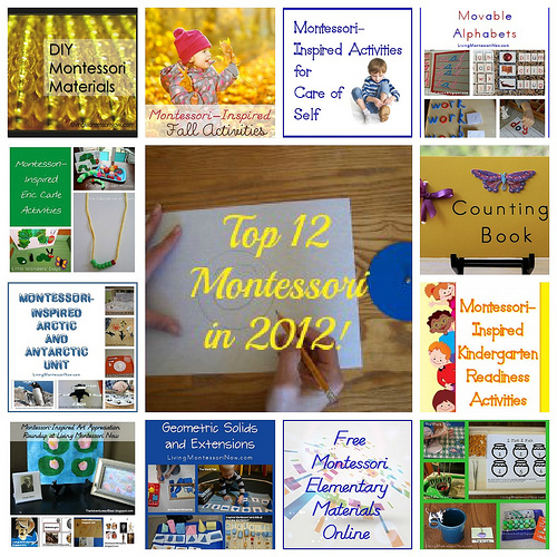 Top Montessori-Inspired Posts from 2012