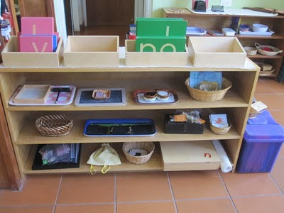 Montessori Language Activities (Photo from Beautiful Sun Montessori)