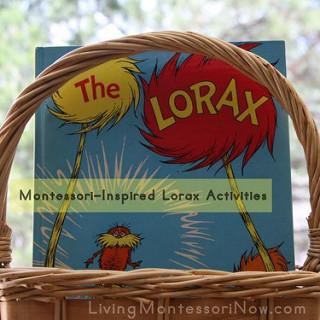 Montessori-Inspired Lorax Activities
