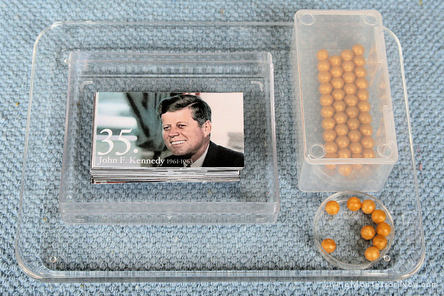 President Number Order Tray