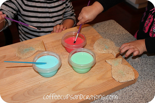 One Fish Two Fish Lunch (Photo from Coffee Cups and Crayons)