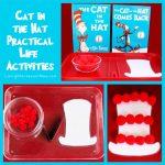 Montessori Monday – Cat in the Hat Practical Life Activities