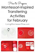 How to Prepare Montessori-Inspired Transferring Activities for February
