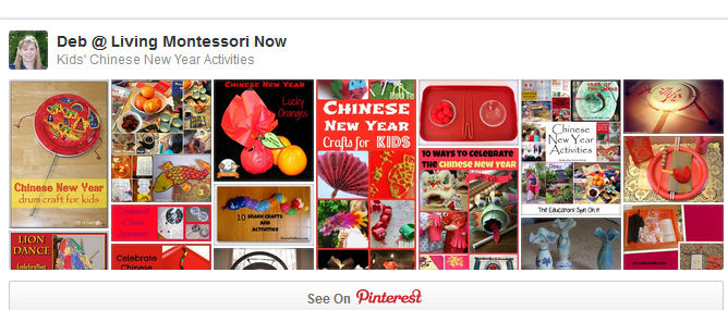 Kids' Chinese New Year Activities Pinterest Board