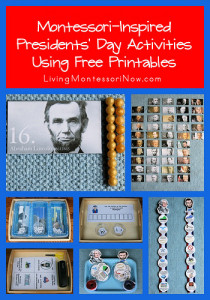 Montessori-Inspired Presidents' Day Activities Using Free Printables