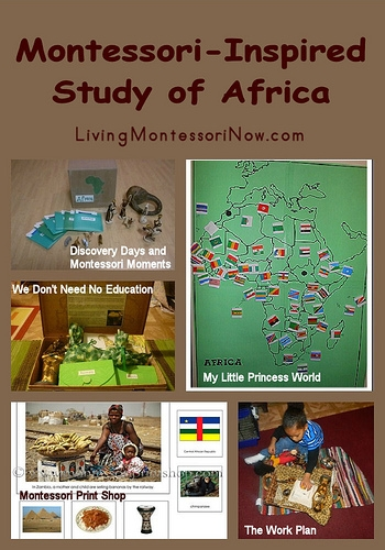 Montessori-Inspired Study of Africa