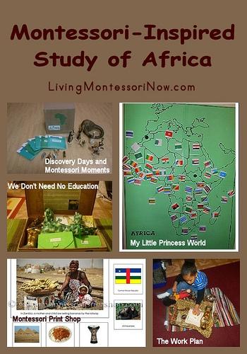 Montessori-Inspired Study of Africa