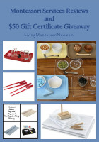 Montessori Services Reviews and $50 Gift Certificate Giveaway