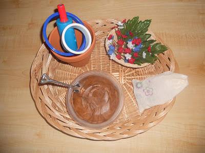 Gardening Playdough Basket (Photo from Counting Coconuts)