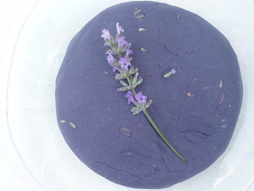 Lavender Playdough (Photo from The Imagination Tree)