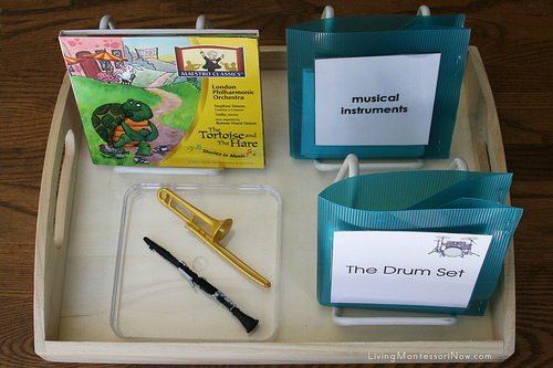 The Tortoise and the Hare Music Appreciation Tray