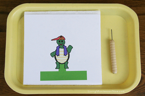 The Tortoise and the Hare Finger Puppets