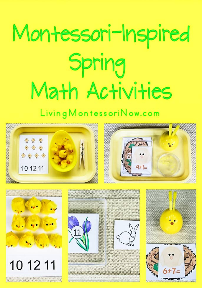 Free Spring Printables and Montessori-Inspired Spring Math Activities