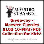 Giveaway – Maestro Classics $100 10-MP3/PDF Collection for Kids!