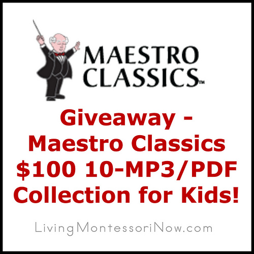 Giveaway - Maestro Classics 10 MP3-PDF Collection for Kids
