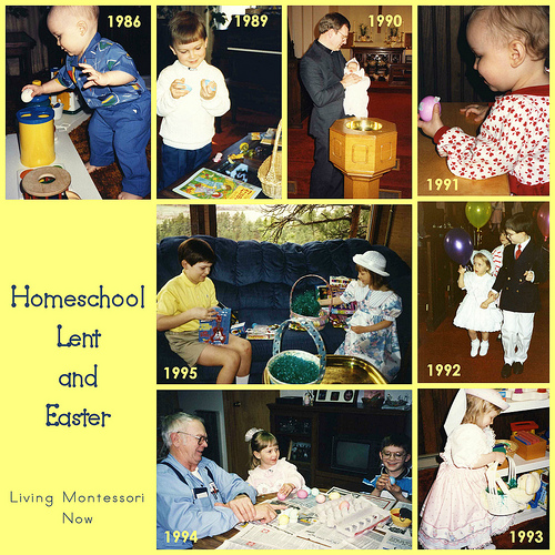 Homeschool Lent and Easter