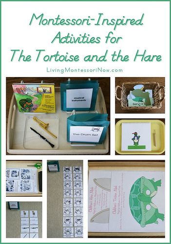 Montessori-Inspired Activities for The Tortoise and the Hare
