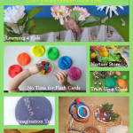 Montessori Monday – Montessori-Inspired Spring Playdough Activities