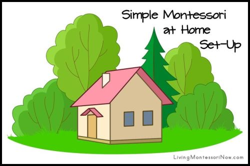 Simple Montessori at Home Set-Up