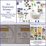 3rd Blogiversary Giveaway – $645 Montessori Print Shop/Montessori at Home Products!!!