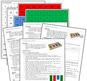 Printable Stamp Game and Instructions (Image from Montessori Print Shop)